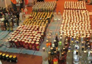 توزیع مشروبات الکلی
